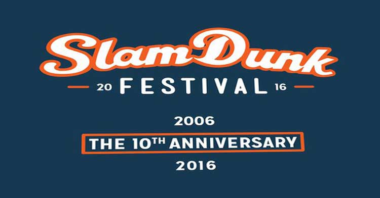 slam dunk have finally announced the first lot of bands for their 2016 festival lineup which includes panic at the disco of mice and men and new found