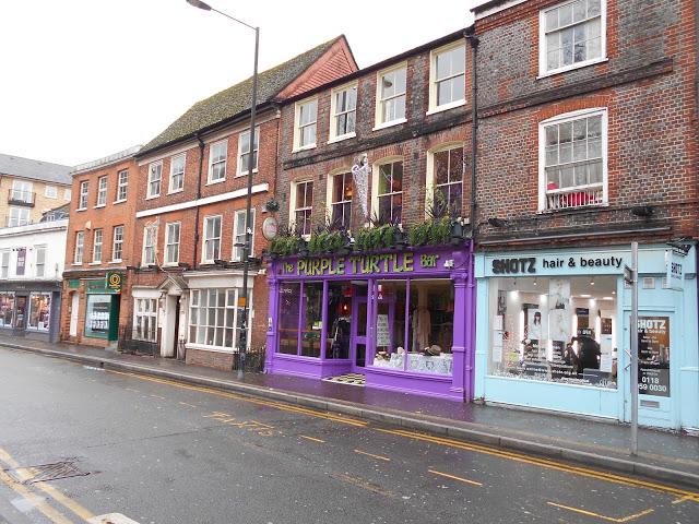 The Purple Turtle Bar on Gun Street
