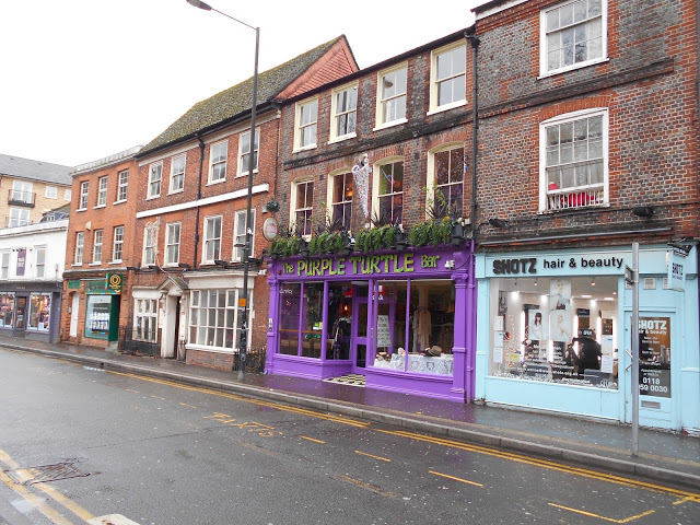 The Purple Turtle Bar on Gun Street